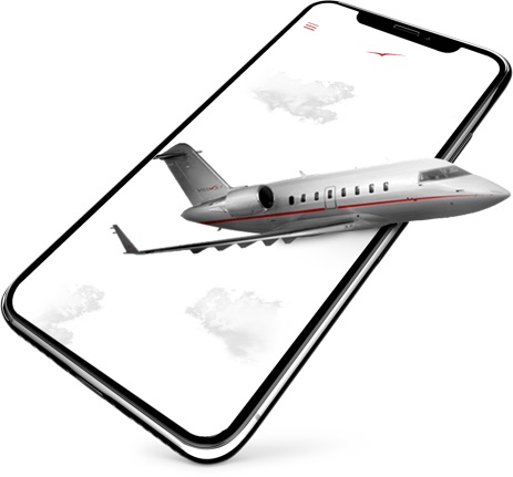 VistaJet mobile app