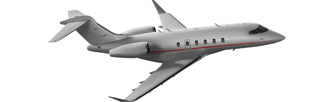 Challenger 350 aircraft private jet lease