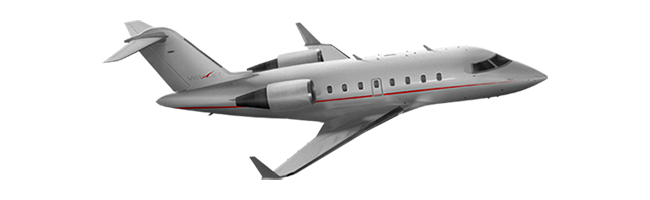 Challenger 605 aircraft private jet lease