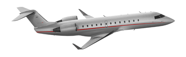 Challenger 850 aircraft private jet lease