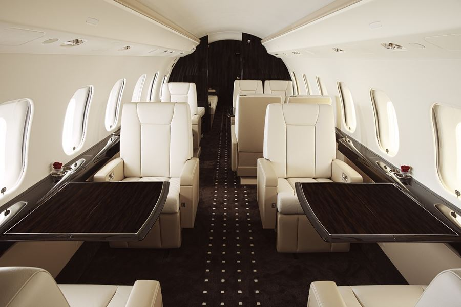 VistaJet Cabin: A home away from home