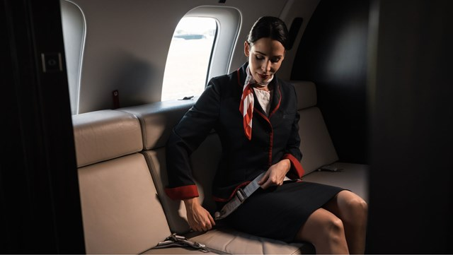 VistaJet Cabin Hostess, Safety First